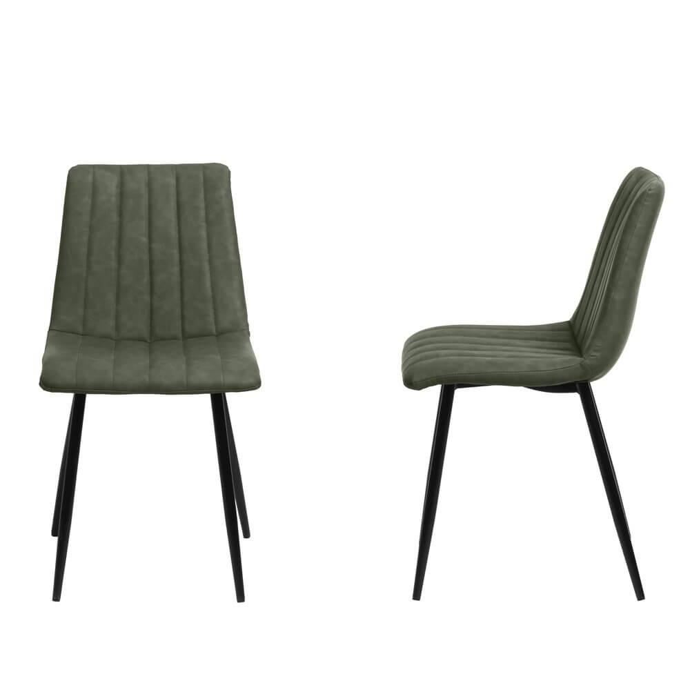 Chaise design vintage Orsay (Lot de 2 chaises)
