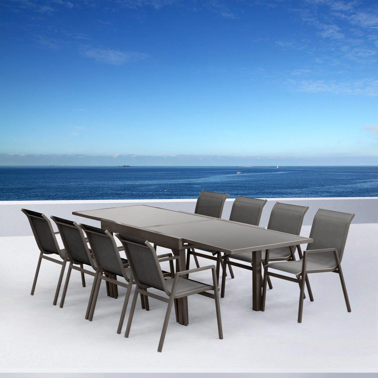 Salon de jardin aluminium Atlantique