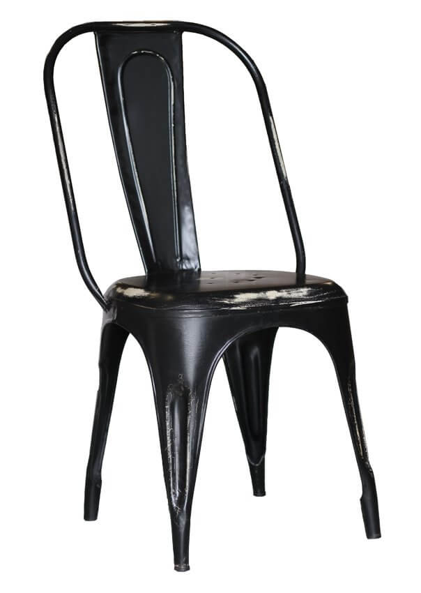 Chaise Chicago Old Black
