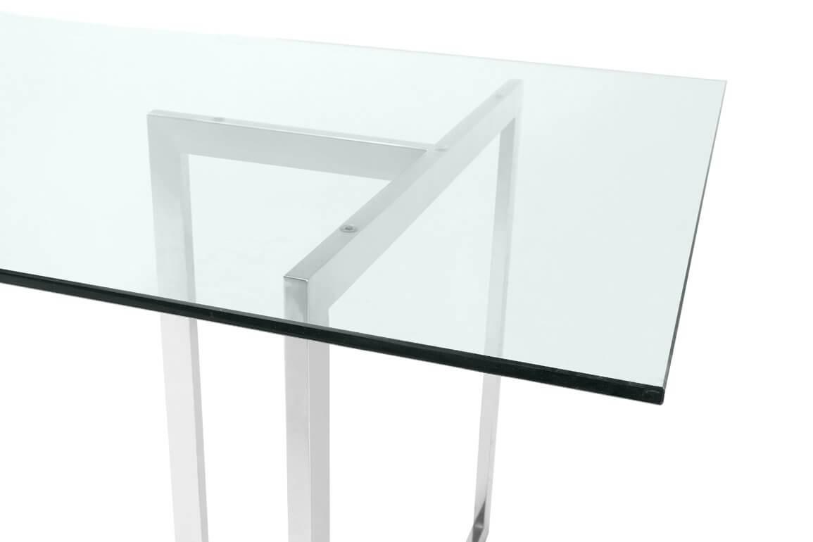 Table en verre Lago