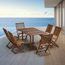 Salons de jardin bois d\'eucalyptus ou d\'acacia - Achetez votre salon ...